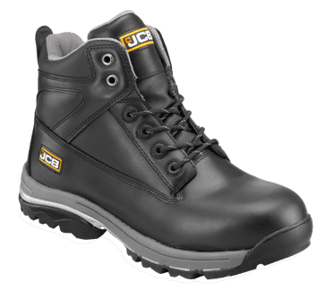 JCB Black Boot with Steel Midsole WORKMAX/B