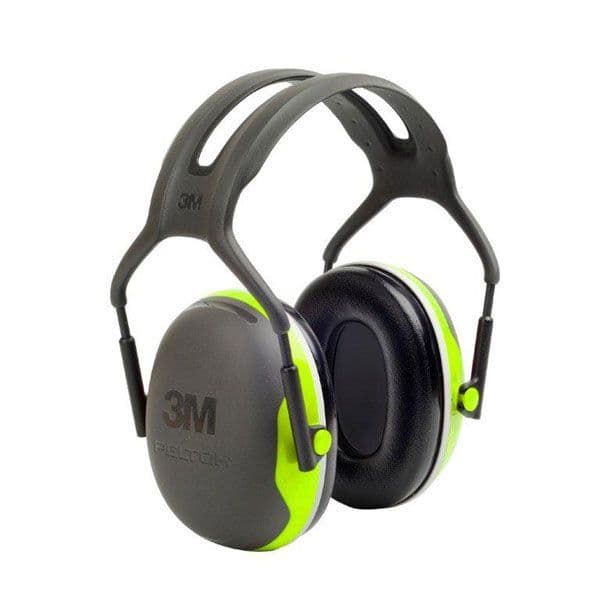 Peltor 3M X4A Slim Headband Ear Defenders (33dB SNR)