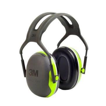 Peltor 3M X4A Slim Headband Ear Defenders (33dB SNR)