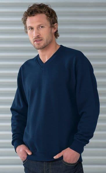 Russell Workwear V-Neck Sweatshirt