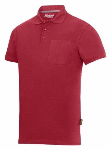 Snickers 2708 Classic Polo Shirt (Chili Red)