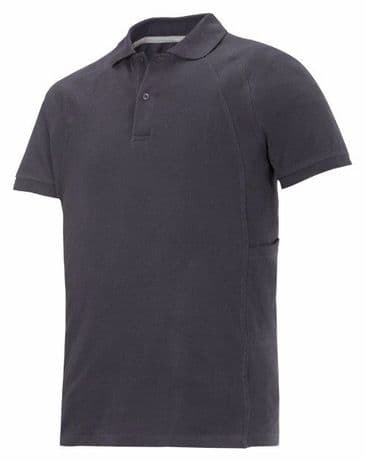 Snickers 2710 Heavy Polo Shirt with MultiPockets (Steel Grey)