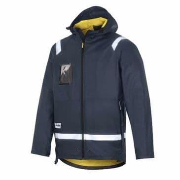 Snickers 8200 Rain Jacket, PU (Navy)