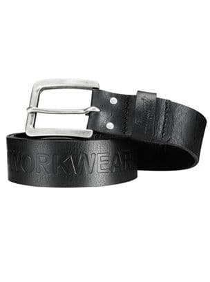 Snickers 9034 Leather Belt (Black)