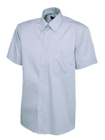 Uneek Mens Oxford Short Sleeve Shirt UC702