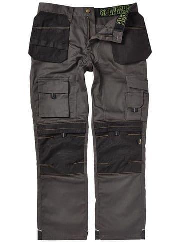 Apache Knee Pad Holster Trouser Grey APKHT