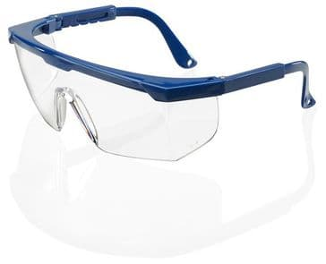B-Brand Portland Clear Safety Spectacles