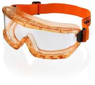 B-Brand Premium Goggles (Clear - Amber Frame)