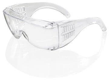 B-Brand Seattle Clear Safety Spectacles