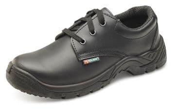 Black Smooth leather Shoe Dual Density CDDSTS
