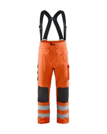 Blaklader 1302 Waterproof Rain Trousers (Orange)