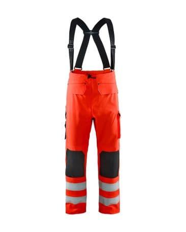 Blaklader 1302 Waterproof Rain Trousers ( Red )
