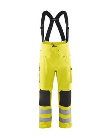 Blaklader 1302 Waterproof Rain Trousers (Yellow)