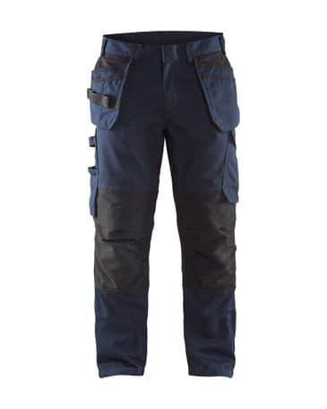 Blaklader 1496 Service Trouser (Dark Navy/Black)