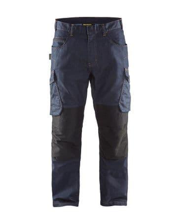Blaklader 1497 Service Trouser (Navy Blue/Black)