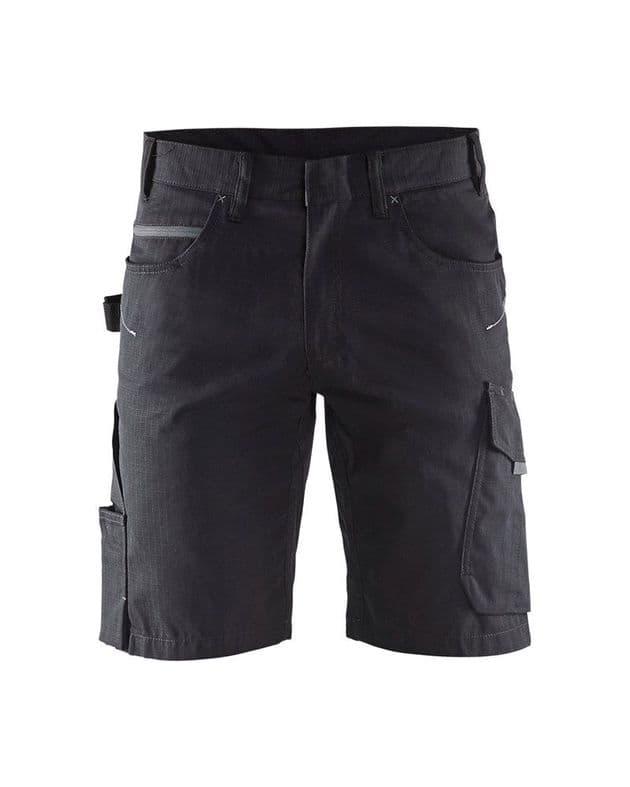 Blaklader 1499 Service Shorts (Black/Dark Grey)