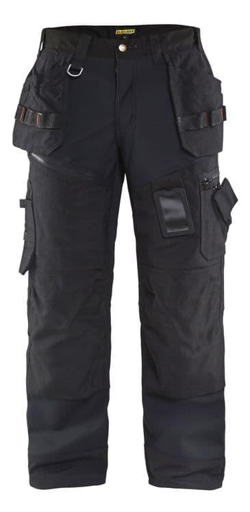 Blaklader 1500 2517 Softshell Craftsman Trousers X1500 (Black)