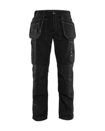 Blaklader 1525 Lightweight Craftsman Trousers (Black)
