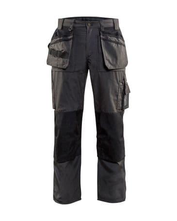 Blaklader 1525 Lightweight Craftsman Trousers (Dark Grey/Black)
