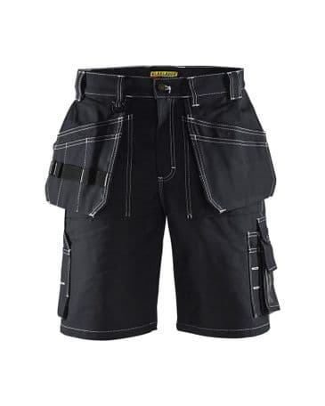 Blaklader 1534 Shorts 100% Cotton Twill (Black)