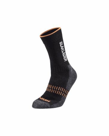 Blaklader 2192 Warm Sock (Black/Neon Orange)