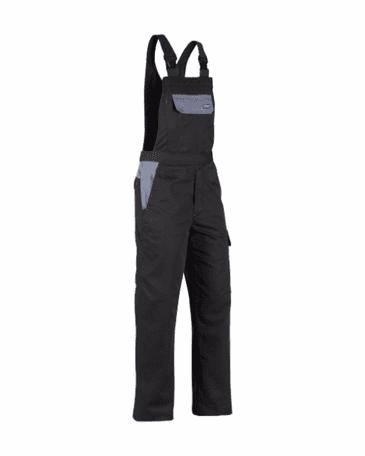 Blaklader 2665 Bib Overalls (Black/Grey)