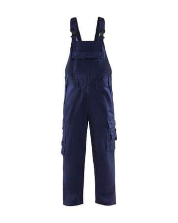 Blaklader 2824 Anti-Flame Bib Trouser (Navy Blue)