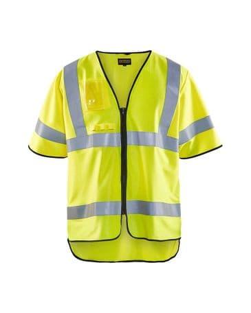 Blaklader 3024 Anti-Flame Waistcoat High Vis Cl 3 Yellow