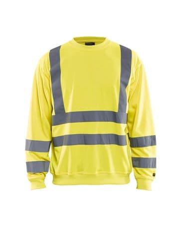 Blaklader 3341 Sweatshirt High Vis (Yellow)