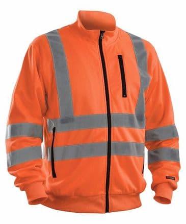 Blaklader 3358 High visibility Sweatshirt (Orange)