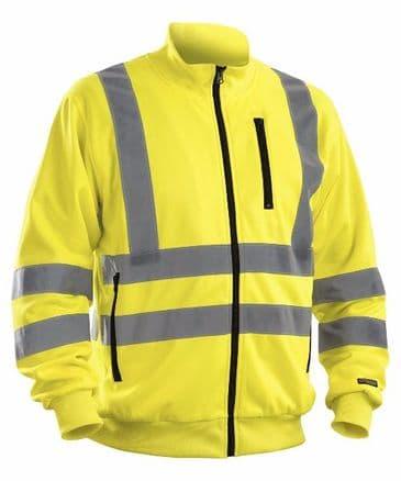 Blaklader 3358 High visibility Sweatshirt (Yellow)