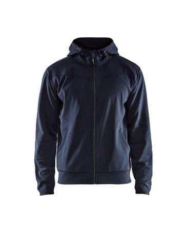 Blaklader 3363 Hoodies With Full Zipper (Dark Navy/Black)
