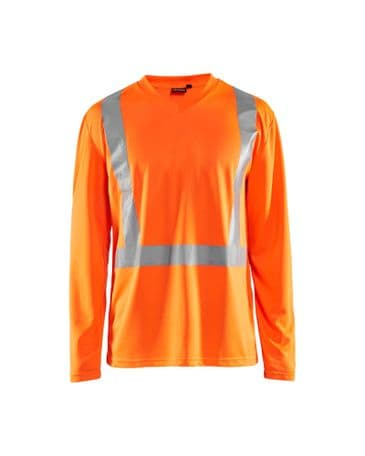 Blaklader 3383 UV T-Shirt High Vis Long Sleeve (High Vis Orange)