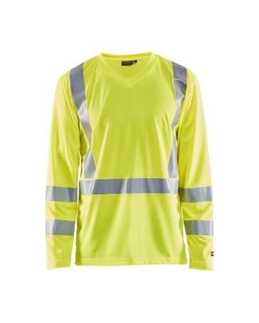 Blaklader 3383 UV T-Shirt High Vis Long Sleeve (High Vis Yellow)