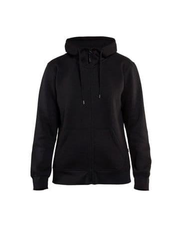 Blaklader 3395 Ladies Hoodie With Full Zipper (Black)