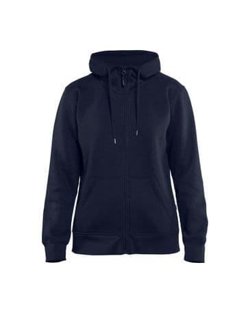 Blaklader 3395 Ladies Hoodie With Full Zipper (Navy Blue)