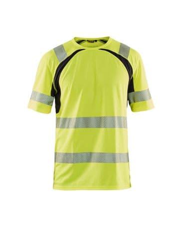 Blaklader 3397 UV High Vis T-Shirt (High Vis Yellow/Black)