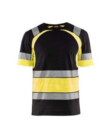 Blaklader 3421 High Vis T-Shirt (Black/Yellow)