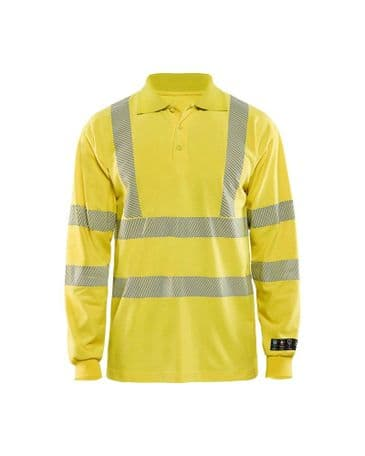 Blaklader 3439 Multinorm Pique Long Sleeves (Yellow)
