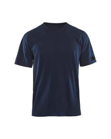 Blaklader 3482 Flame Retardant T-Shirt (Navy Blue)