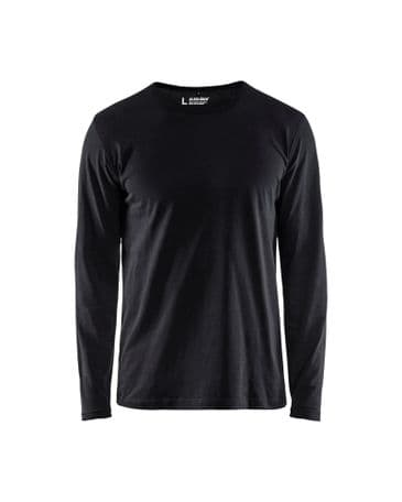 Blaklader 3500 T-Shirt Long Sleeves (Black)