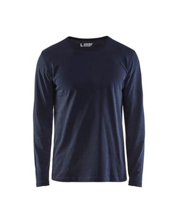 Blaklader 3500 T-Shirt Long Sleeves (Dark Navy)
