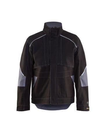 Blaklader 4061 Anti-Flame Jacket (Black/Grey)