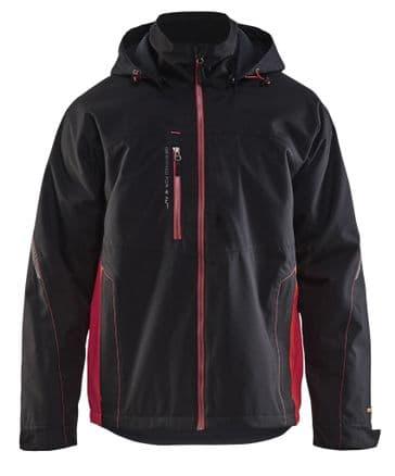 Blaklader 4790 Shell Jacket (Black/Red)