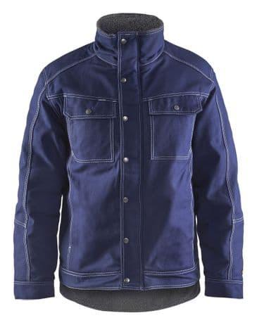 Blaklader 4815 Winter Jacket 100% Cotton Twill (Navy Blue)