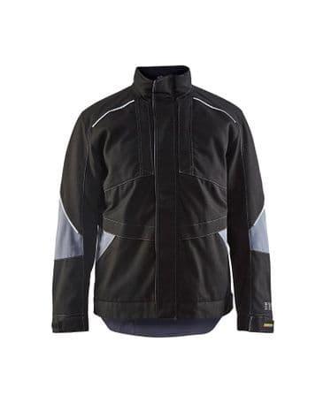 Blaklader 4961 Anti-Flame Winter Jacket (Black/Grey)