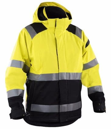 Blaklader 4987 High Vis Shell Jacket (Yellow/Black)