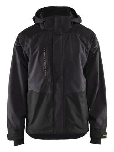 Blaklader 4988 Waterproof Shell Jacket (Dark Grey / Black)