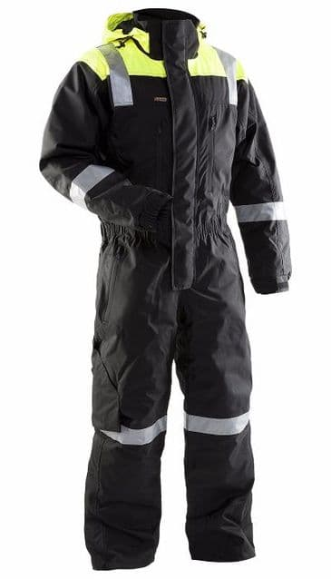 Blaklader 6787 Winter Coverall (Black/Yellow)