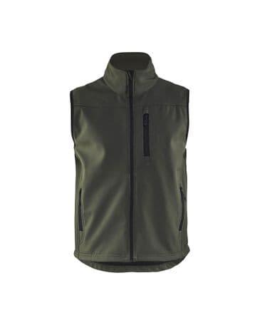 Blaklader 8170 Waistcoat Softshell (Army Green)